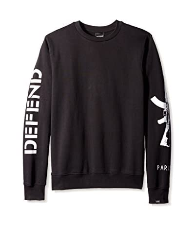 DEFEND Paris Men's Ak Crew Neck Sweatshirt