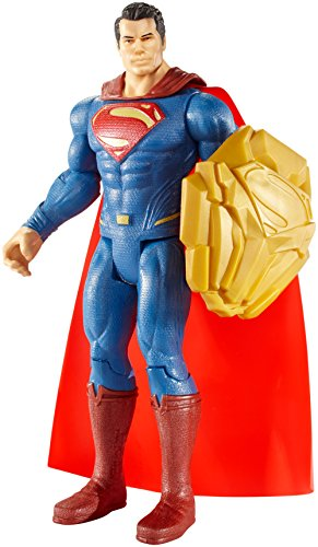 "Batman v Superman: Dawn of Justice Shield Clash Superman 6"" Figure at Gotham City Store"