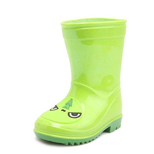 OKSHOES - A collo basso Unisex per bambini , verde (Green), 30 EU