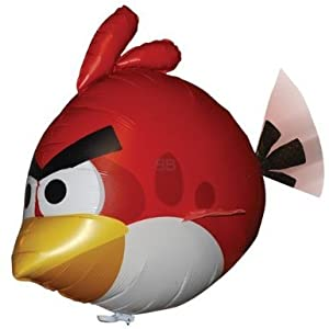Air Swimmers REPLACEMENT BALLOON (Angry Birds Red Bird)