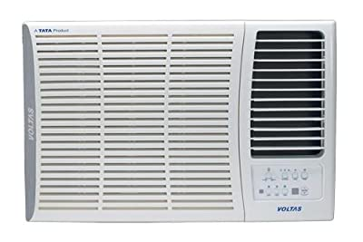 Voltas 185 DY Delux Y Series Window AC (1.5 Ton, 5 Star Rating, White)