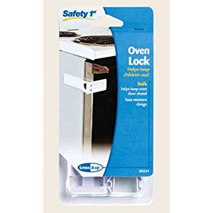Child safety oven lock