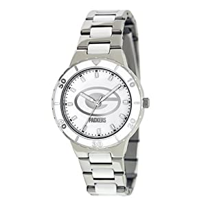 Game Time Women's NFL-PEA-GB Green Bay Packers Watch$48.42