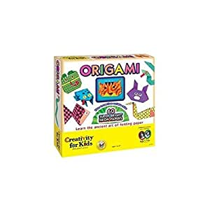 Deluxe origami kit w stickers fun arts and crafts for for Amazon arts and crafts for kids