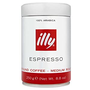 Illy Ground Coffee - 250g Pack of 2