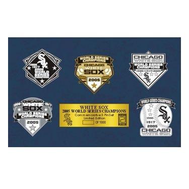 The Chicago White Sox: 2005 Championship Pin Set