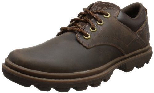 Cat Footwear  MAXWELL,  Scarpe stringate modello Derby uomo, Marrone (Braun (MENS DARK BROWN)), 44