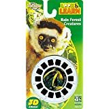 View-Master Rain Forest Creatures Look & Learn Reels
