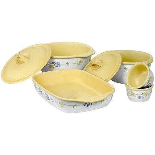 Bake Serve Corningware Corelle Coordinates 7 Piece Bake