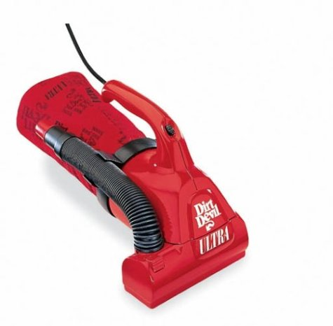 Dirt Devil Ultra Corded Bagged Handheld Vacuum, M08230Red