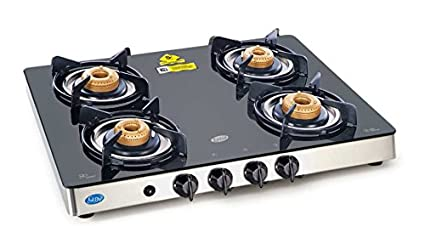 Glen GL 1042 GT AI Gas Cooktop (4 Burner)