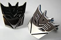 Transformers Decepticon Cufflinks w/ Box