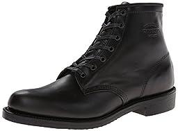 Original Chippewa Collection Men\'s 1901M82 6 Inch Service Utility Boot, Trooper Black, 10 D US