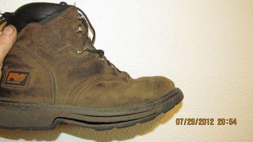 """Timberland PRO Men's Pitboss 6"""" Soft-Toe Boot"""