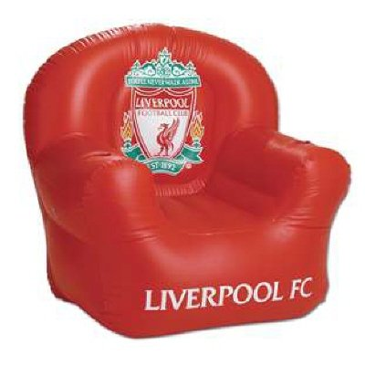 Liverpool FC Inflatable Chair – Football Gifts