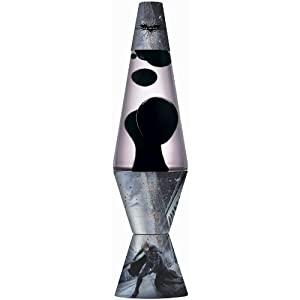 Lava Lite 2414 The Dark Knight RisesTM Scene Lava Lamp, Black Wax/Clear Liquid, 14-1/2-Inch