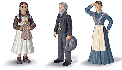 Schleich Set 3-Stück: 70311 + 70312 + 70313 – Siedler Vater , Mutter und Mädchen / Tochter