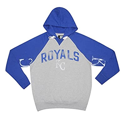 BIG & TALL Mens MLB Athletic Pullover Hoodie: KANSAS CITY ROYALS