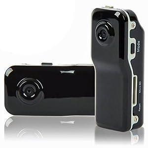 LUPO MD80 sport Mini DVR Video macchina fotografica, registratore di voce & fotocamera digitale - nero
