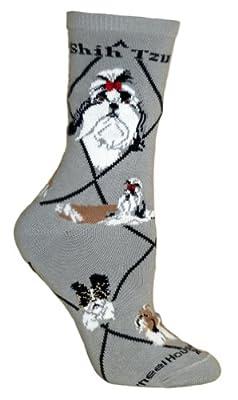 Shih Tzu Puppy Dog Breed Animal Socks 9-11