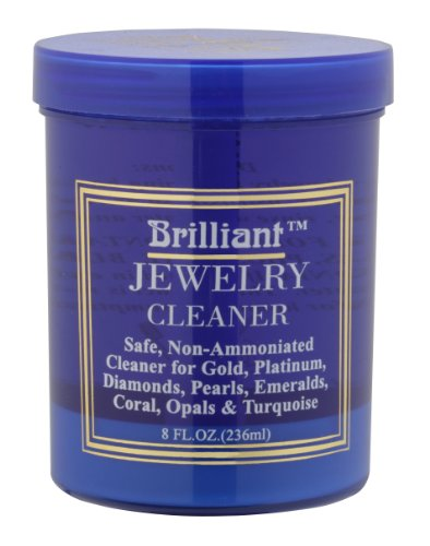 Brilliant® 8 Oz Jewelry Cleaner with Cleaning Basket and Brush (Platinum Cleaner compare prices)