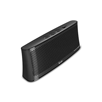 iLuv WAVECASTWH Wavecast Portable Stereo Bluetooth Speaker