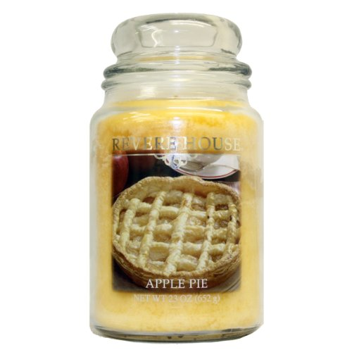 Candle-lite Revere House 23-Ounce Country Comfort Jar, Apple Pie (Pie Candle compare prices)