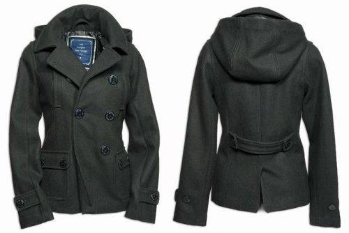 Damen Kaban Jacke im kurzen Schnitt, schwarz 42,Schwarz
