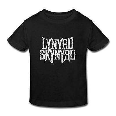 FUNSHINBABY Kid's Toddler Lynyrd Skynyrd Logo Age 2-6 T-shirt
