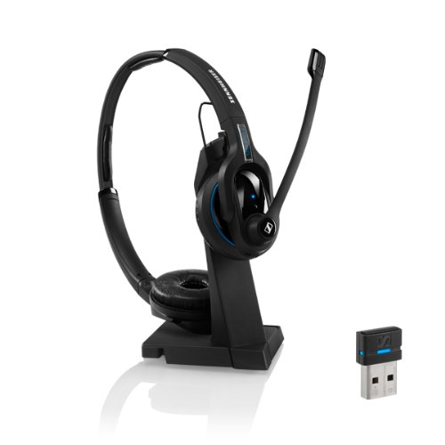Sennheiser 506045 Mb Pro2 Uc Stereo Bluetooth Headset With Dongle