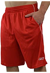 AllPro RBK Men's Performance Basketball Shorts with Pockets