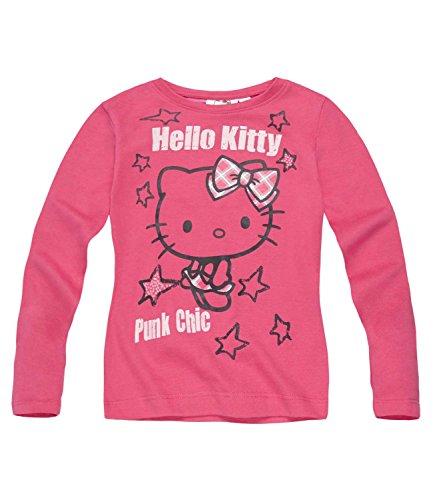 Hello Kitty Ragazze Maglietta maniche lunghe - fucsia - 116