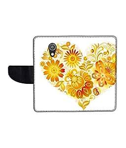 KolorEdge Printed Flip Cover For Motorola Moto G (2nd Gen) Multicolor - (50KeMlogo09014MotoG2)