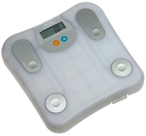 Cheap Tanita 2001T-FW Ultimate Body Fat Monitor and Scale, Translucent Frosty White (2001T-FW)