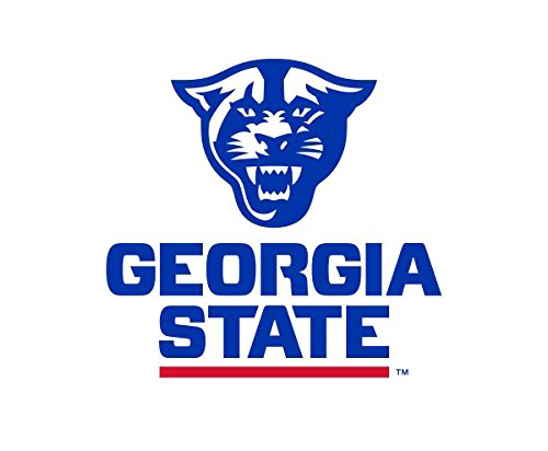 NCAA Georgia State University Panthers Die-Cut Vinyl Decal, 6