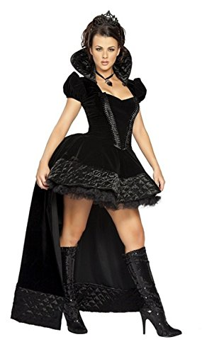 NonEcho Halloween Onesize Costume Dark Witch Costume for Adult