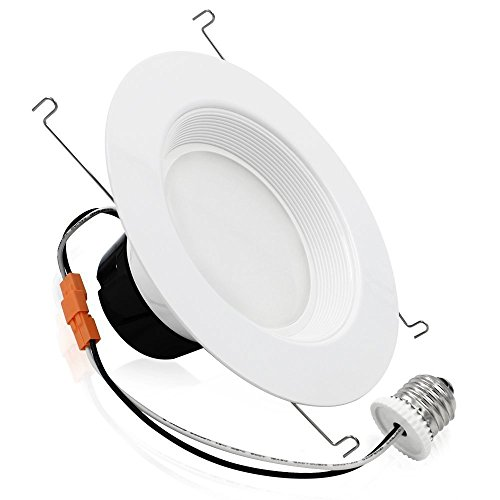 19Watt 5/6-inch High CRI Wet Location Dimmable Retrofit LED Recessed Lighting Fixture, Energy Star UL-classified 120W Equivalent Ceiling Light, 2700K Soft White 1200lm Remodel Recessed Downlight (Wet Location Ceiling Light compare prices)