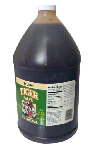 TryMe Tiger Sauce | 1 Gallon (Tiger Sauce 10 Oz compare prices)