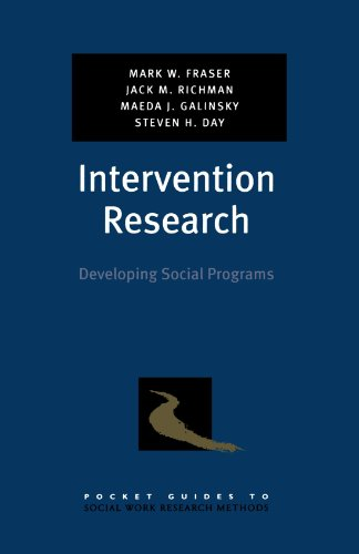 Intervention Research: Developing Social Programs (Pocket...