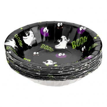 Halloween Party Plates / Pack of 20