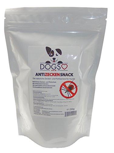dogs-heart-anti-zecken-snack-250-g-biologische-abwehr-gegen-zecken-flohe-und-milben-auch-fur-welpen-