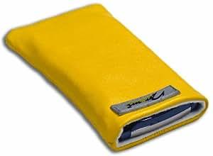 Norrun Handytasche / Handyhülle # Modell Sunja # ersetzt die Handy-Tasche von Hersteller / Modell Samsung Galaxy Tab # maßgeschneidert # mit einseitig eingenähtem Strahlenschutz gegen Elektro-Smog # Mikrofasereinlage # Made in Germany