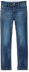 US Polo Boys Jeans (UJJN5256_Medium Blue_L)