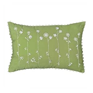 Decorative Pillows For Bed Green : Amazon.com - Springmaid Green Decorative Pillow - Throw Pillows
