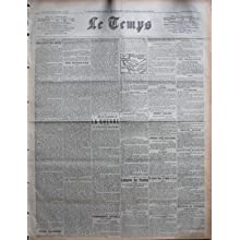 TEMPS (LE) [No 20026] du 22/10/1918 - PARIS 21 OCTOBRE - BULLETIN DU JOUR - LOÇÖHEURE DES RESTITUTIONS - DEPECHES...