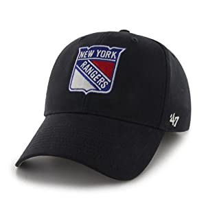 NHL New York Rangers Basic Structured Cap, Youth, Navy