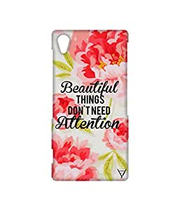 Vogueshell Beautiful Things Printed Symmetry PRO Series Hard Back Case for Sony Xperia Z2