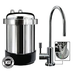WaterChef? WaterChef U9000 Premium Under-Sink Water Filtration System (Polished Chrome Faucet) at Sears.com