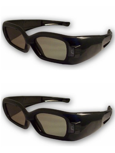 3DTV Corp DLP-LINK 3D Glasses 2 Pairs for ALL