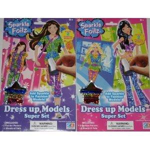 Sparkle Foilz Dress up Models Super Kit